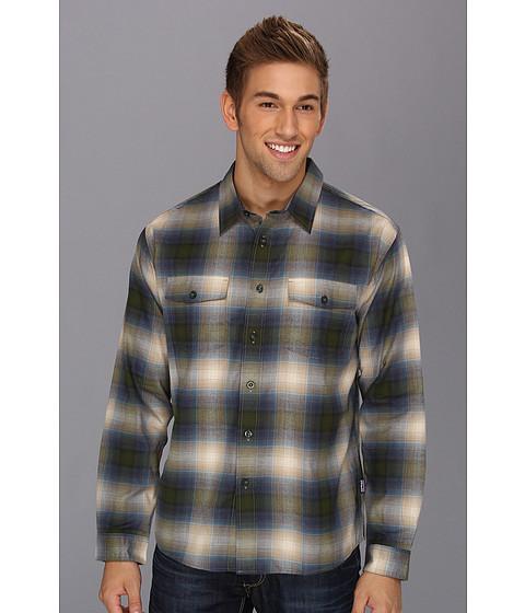 Camasi Patagonia - L/S Buckshot Shirt - Double Rainbow/Urbanist Green