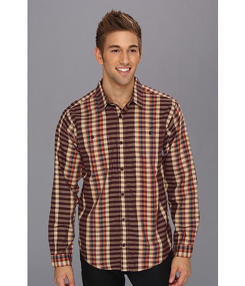 Camasi Patagonia - L/S Pima Cotton Shirt - Raymond/Whiskey Plum