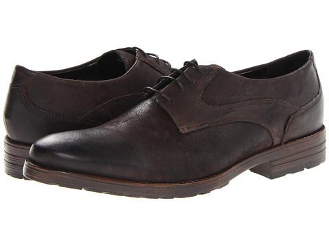 Pantofi Clarks - Denton Stroll - Dark Brown Leather
