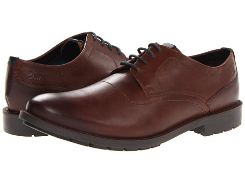 Pantofi Clarks - Garnet Walk - Tan Leather