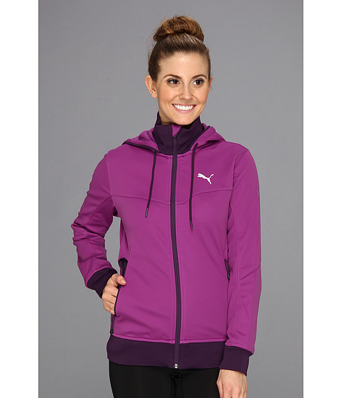 Bluze PUMA - Softshell Full Zip - Sparkling Grape