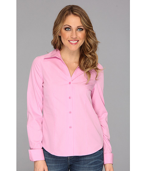 Camasi Jones New York - No-Iron Easy Care Fitted Shirt - New Pink/JWhite