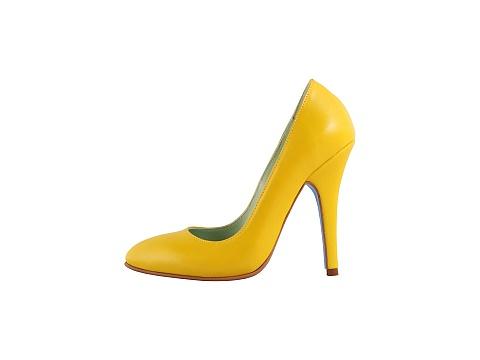 Pantofi Hotstepper - Revolution Yellow Jelly - Galben