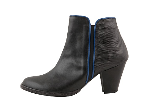 Botine Hotstepper - New Wave Cobalt Blue - Negru