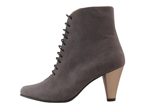 Botine Hotstepper - Statement Grey and Nude - Gri