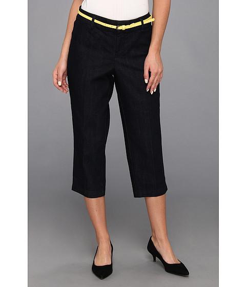 Pantaloni Dockers - Belted Capri w/ Hello Smooth - Denim - Midnight Wash