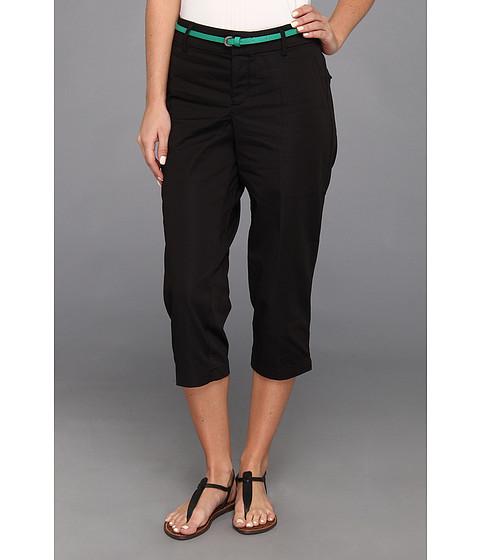 Pantaloni Dockers - Belted Capri w/ Hello Smooth - Solid - Black