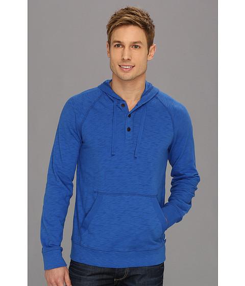 Bluze Lucky Brand - Solid Shasta Hoodie - True Blue
