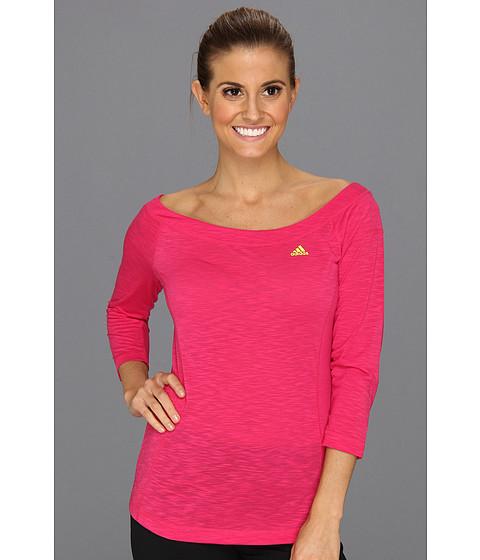 Bluze adidas - Twist Slub Tee - Blast Pink