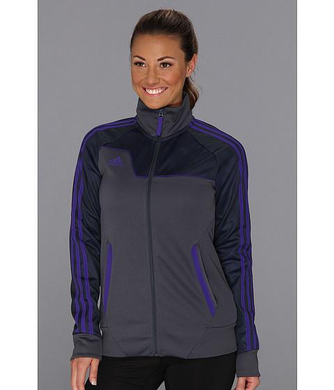 Bluze adidas - Speedkick Track Jacket - Dark Onix/Blast Purple
