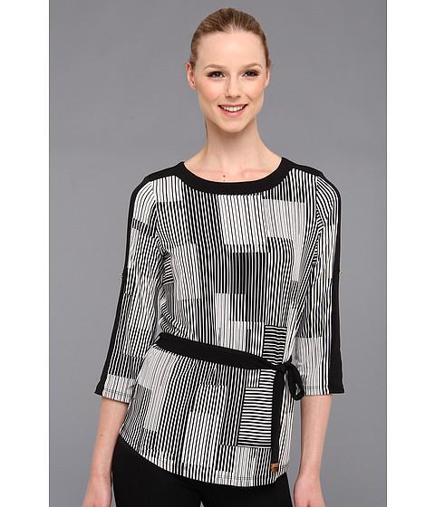 Bluze Calvin Klein - Print Matte Jersey Dolman W/Trm - Birch Multi 3 Cksp
