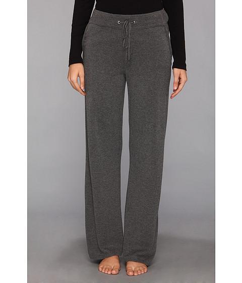 Pantaloni Calvin Klein - Wool Blend Sweater Pant - Heather Charcoal