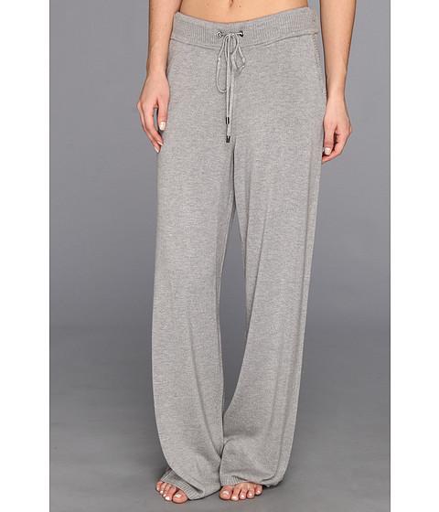 Pantaloni Calvin Klein - Wool Blend Sweater Pant - Heather Granite
