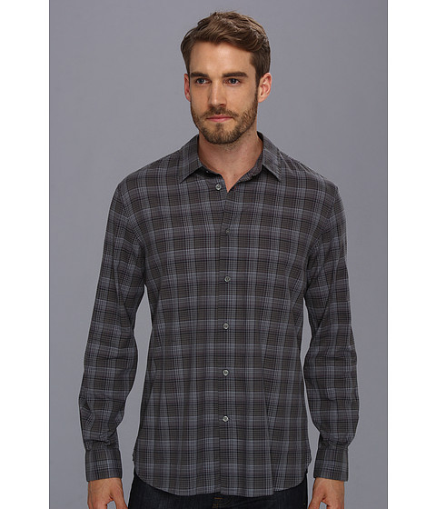 Camasi John Varvatos - Slim Fit Shirt w/ Point Collar - Dry Lavender