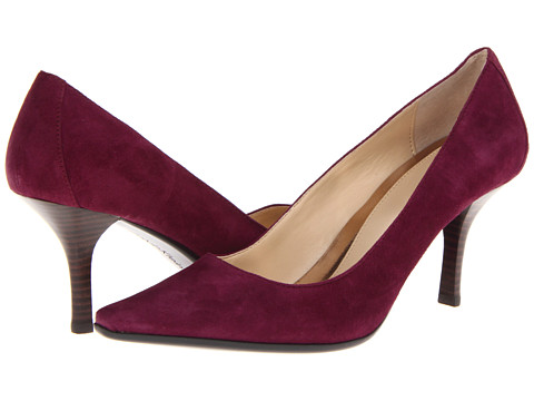 Pantofi Calvin Klein - Dolly Kid Suede - Dark Purple