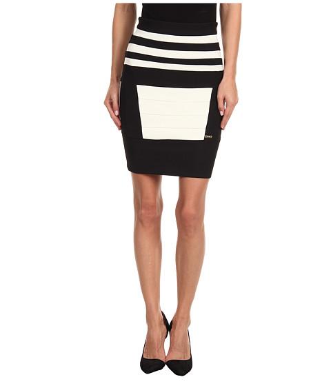 Fuste Just Cavalli - S04MA0061N20542 Bondage Skirt - Black