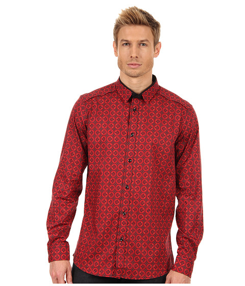 Camasi Just Cavalli - Little Honor Print Shirt - Red