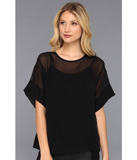 Bluze BCBGMAXAZRIA - Mireya Relaxed T-Shirt - Black