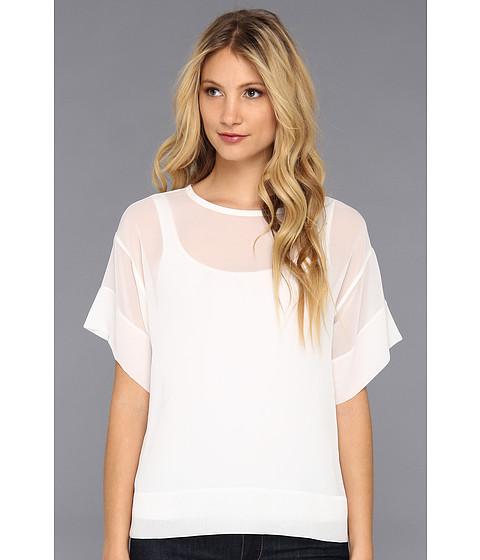 Bluze BCBGMAXAZRIA - Mireya Relaxed T-Shirt - White