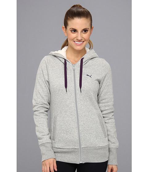 Bluze PUMA - Core Sherpa Fleece Jacket - Athletic Gray Heather
