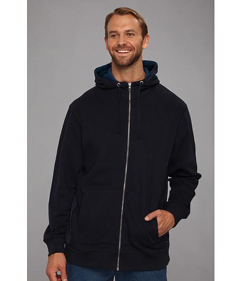 Bluze Nautica - Big & Tall Hooded Full Zip Jacket - Navy