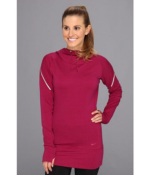 "Bluze Nike - Dri-FITâ""¢ Wool Hoodie - Raspberry Red/Raspberry Red"