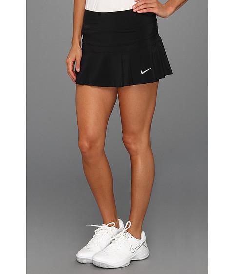 Fuste Nike - Woven Pleated Skort - Black/Matte Silver