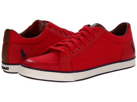 Adidasi Polo Ralph Lauren - Norwood - RL2000 Red/Red/Newport Navy