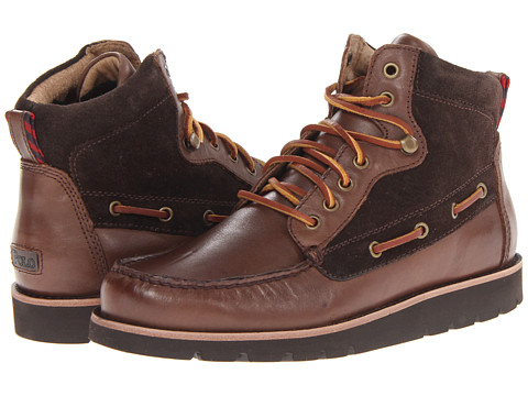 Adidasi Polo Ralph Lauren - Salisbury - Dark Brown/Dark Brown/Dark Brown