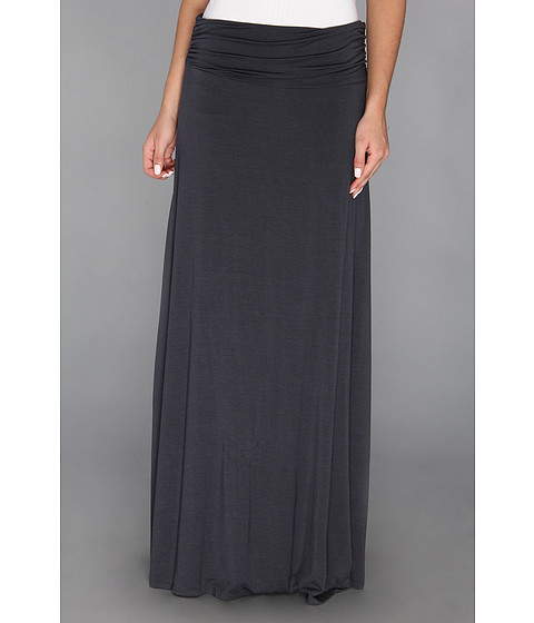 Fuste Culture Phit - Fynn Maxi Skirt - Charcoal