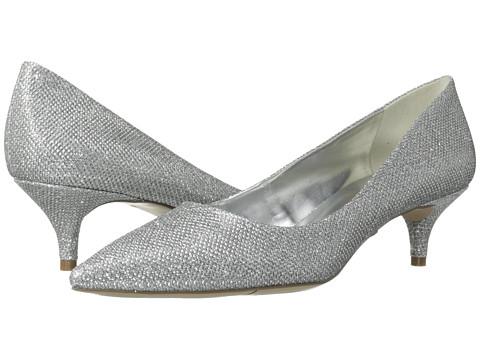 Pantofi Nine West - InTheNight - Silver Fabric