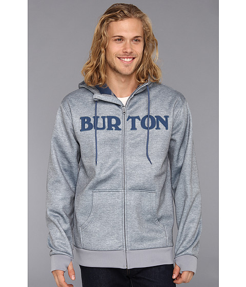 Bluze Burton - Bonded Hoodie - Pewter Heather
