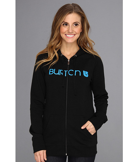 Bluze Burton - Her Logo Full-Zip Hoodie - True Black