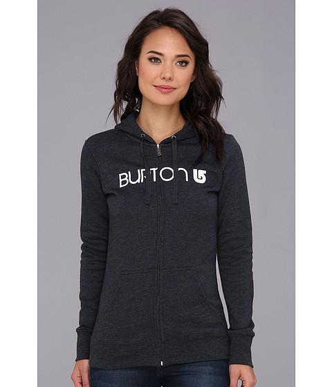 Bluze Burton - Her Logo Full-Zip Hoodie - Heather Eclipse