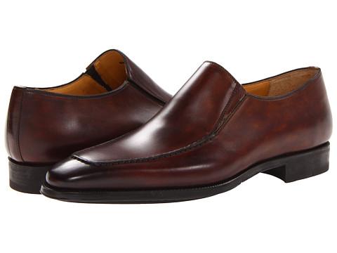 Pantofi Magnanni - Leo - Catalux Mid-Brown