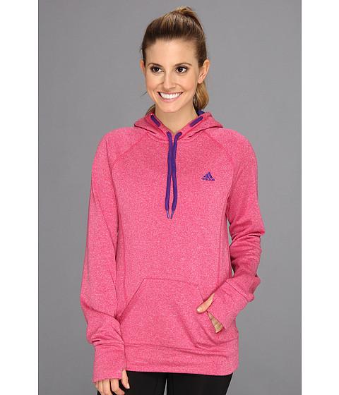 Bluze adidas - Ultimate Fleece Pullover Hoodie - Blast Pink/Pride Blue
