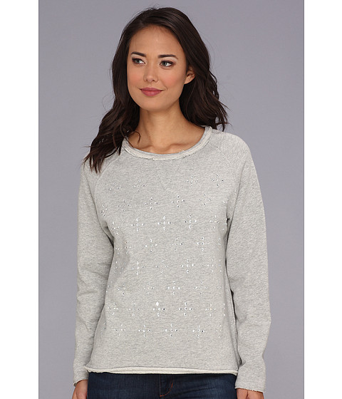 Bluze Gabriella Rocha - DJ Girlfriend Pullover - Light Heather Grey Melange