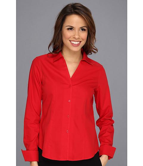 Camasi Jones New York - Easy Care Solid L/S Shirt - Red