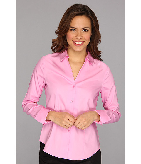 Camasi Jones New York - No-Iron Easy Care Fitted Shirt - New Pink