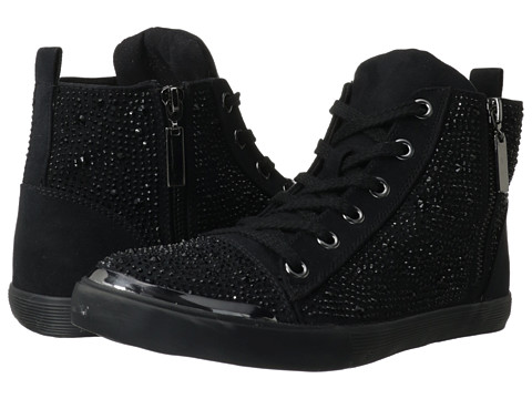 Adidasi Nine West - Diyanna - Black Glitter Imitation Suede