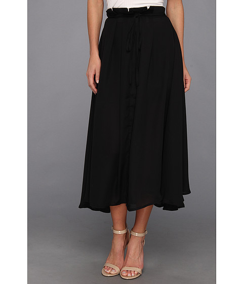 Fuste Brigitte Bailey - Rina Tie Waist Maxi Skirt - Black