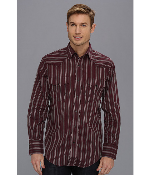 Camasi Roper - 8876 Wine Stripe - Wine