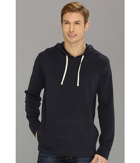 Bluze Lucky Brand - Double Knit Hoodie - American Navy