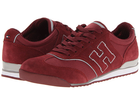 Adidasi Tommy Hilfiger - Claremont - Dark Red Leather