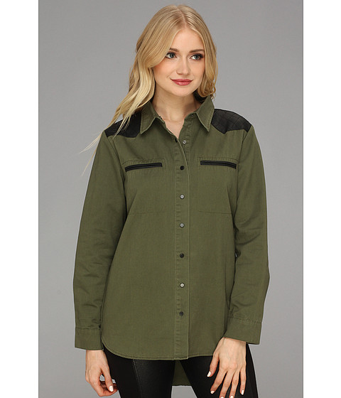 Camasi Type Z - Kaley Shirt - Olive
