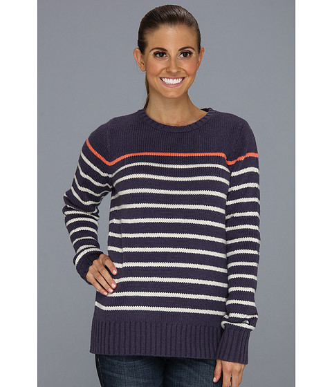 Bluze The North Face - Arakari Sweater - Greystone Blue Stripe