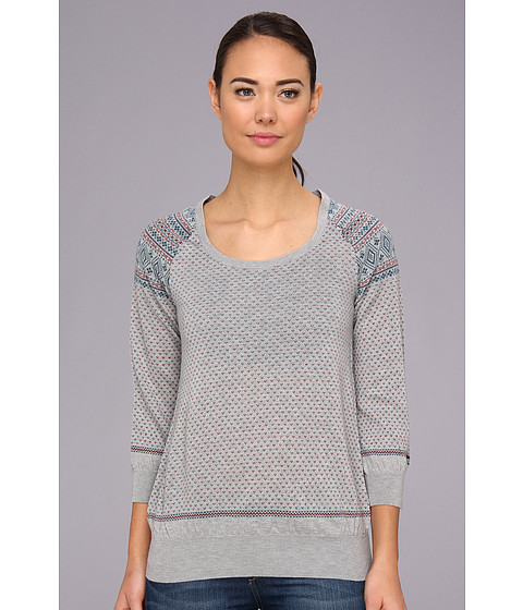 Bluze The North Face - Lace Leaf Sweater - Heather Grey