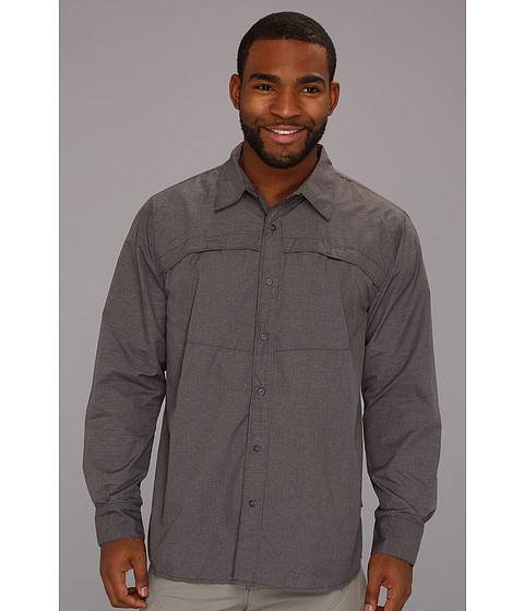 Camasi The North Face - L/S Boone Woven - Asphalt Grey Plaid