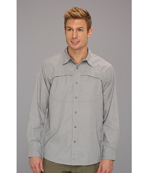 Camasi The North Face - L/S Boone Woven - High Rise Grey Plaid