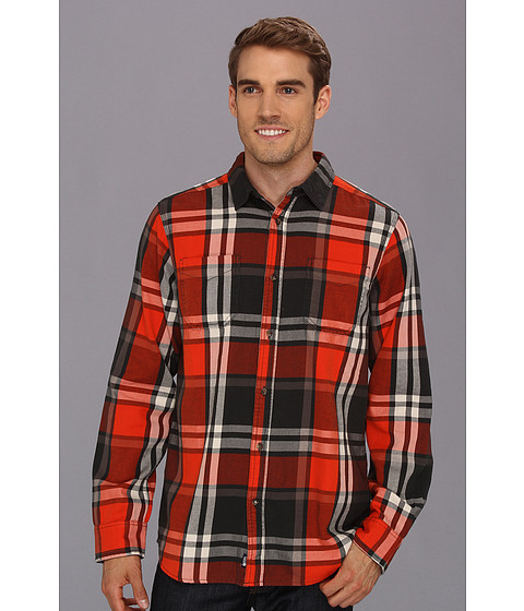 Camasi The North Face - L/S Crowther Flannel - Spicy Orange